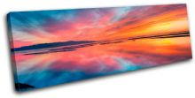Beautiful Sunset Seascape - 13-0889(00B)-SG31-LO